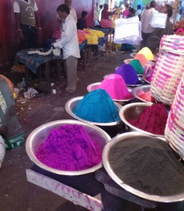 The colours of Devaraja Market.