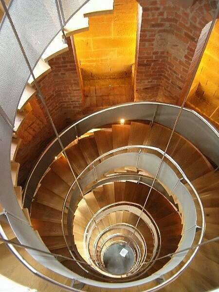 Spiral staircase at The Lighthouse Glasgow by CR Mackintosh photo by patrick mackie