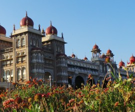 Mysore is famous for two things: its palaces and sandalwood. Mysore Palace (pictured) is India's second largest tourist attraction, after the Taj Mahal. It's a relic from the era of the Maharajas, built at the turn of the 20th century, but the palace was actually built by a British architect Lord Henry Irwin.