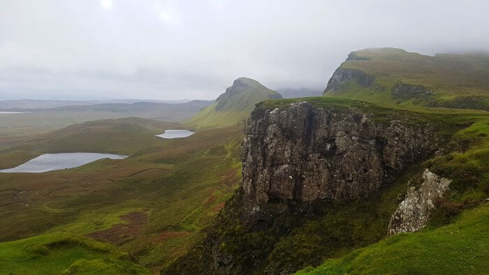 Quiraing on the Isle of Skye
