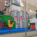 Street Art in Rotterdam Architecture Mural