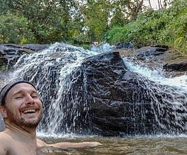 Selfie at Chiang Mai Waterfalls