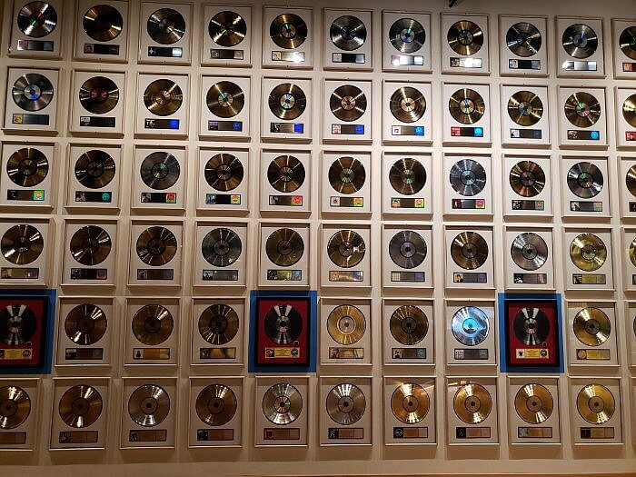 Records at the Country Music Hall of Fame