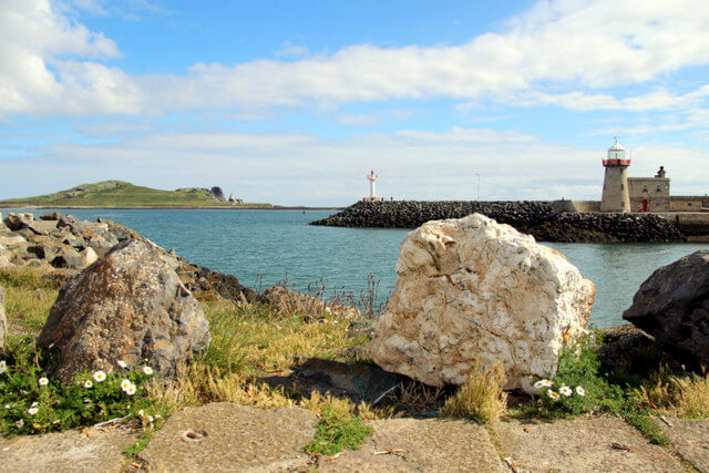 Howth harbour Ireland by Christine Matthews