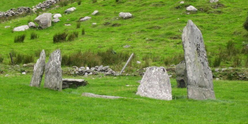 ancient stones, Kerry, Ireland, by N Cox
