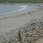 Skara Brae coast Scotland by Chris Downer