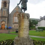 statue Donald Cameron Fort William by N Chadwick