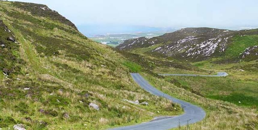 ireland road inishowen donegal