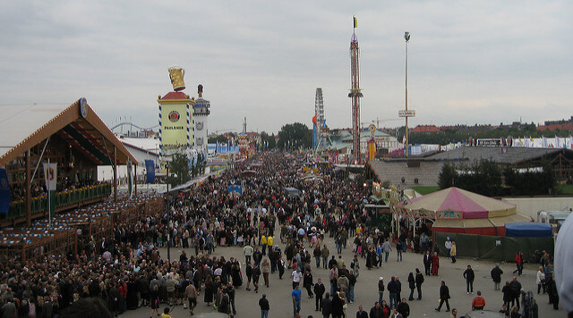 The Oktoberfest site - photo by Patrick