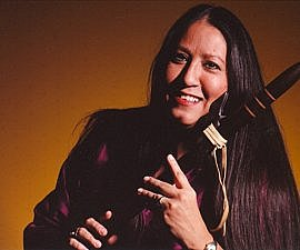 First Nations flute player musician Mary Youngblood