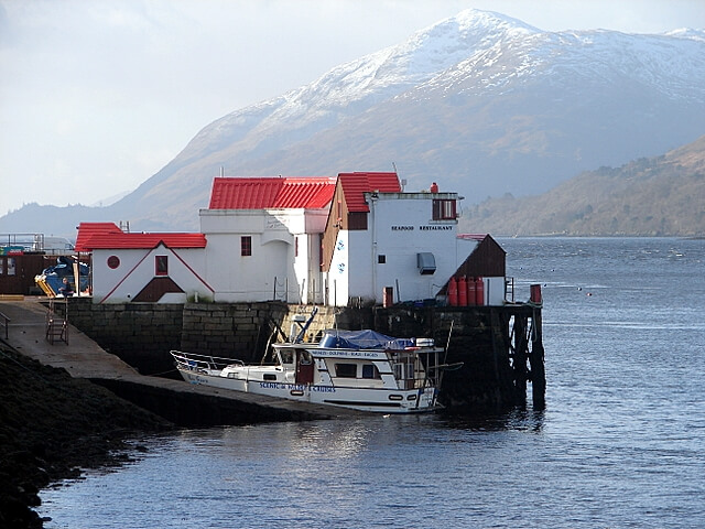 crannog restaurant fort william scotland by john lucas