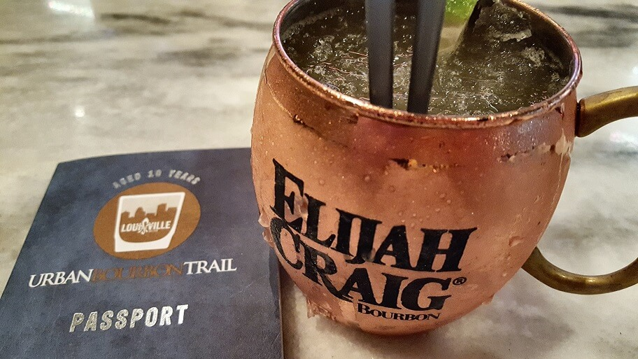 A Kentucky Mule at Bourbon Raw on the Urban Bourbon Trail Louisville KY (photo by Sheila Scarborough)