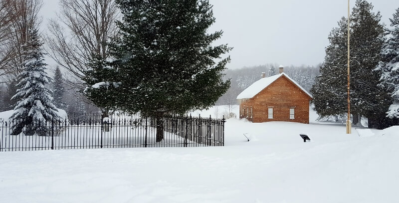 Abolitionist John Brown's farm and gravesite Lake Placid NY (photo by Sheila Scarborough)