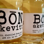 Akevitt or Aquavit from Bone Spirits Distillery in Smithville TX (photo by Sheila Scarborough)