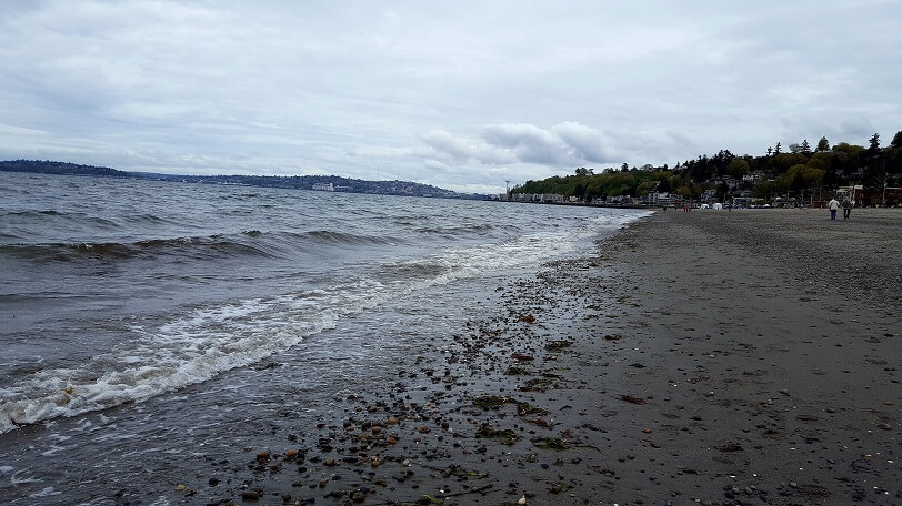 Alki Beach West Seattle (photo by Sheila Scarborough)