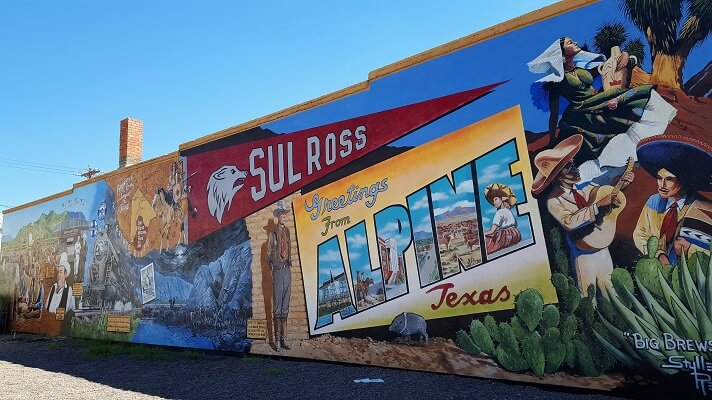 Alpine TX mural (photo by Sheila Scarborough)