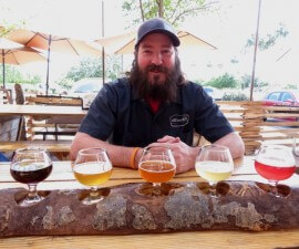 Matt McCormick of Arizona Wilderness Brewery in Gilbert, Phoenix, Arizona