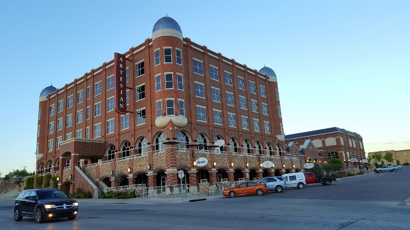 Artesian Hotel In Central Oklahoma At Sunset Photo By Sheila Scarborough