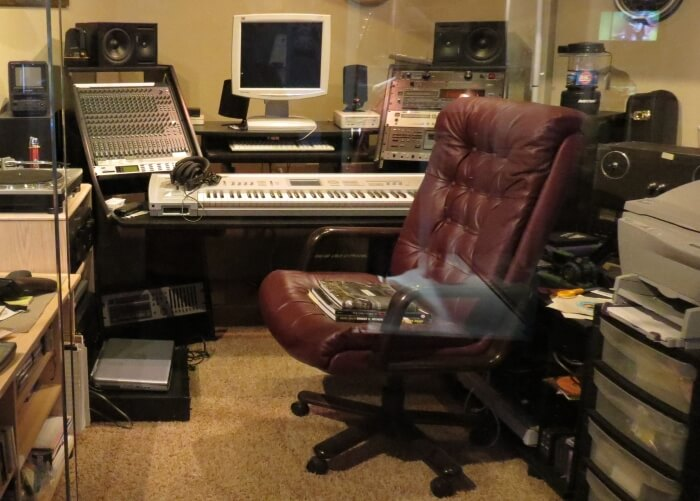 BB King's home recording studio, now in the BB King Museum in Indianola, Mississippi