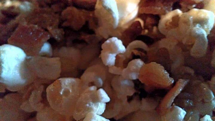Bacon popcorn at the Tavern on Brady, Tulsa, Oklahoma (photo by Sheila Scarborough)