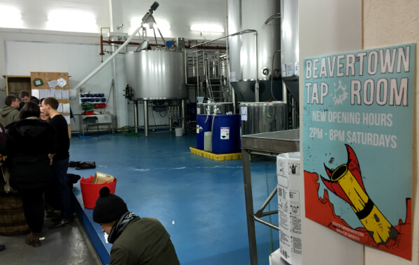Beavertown Brewery Taproom