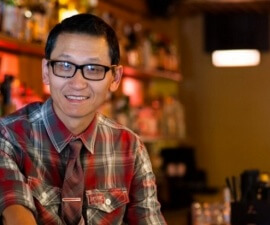 James Lee of The Bitter Bar in Boulder, Colorado