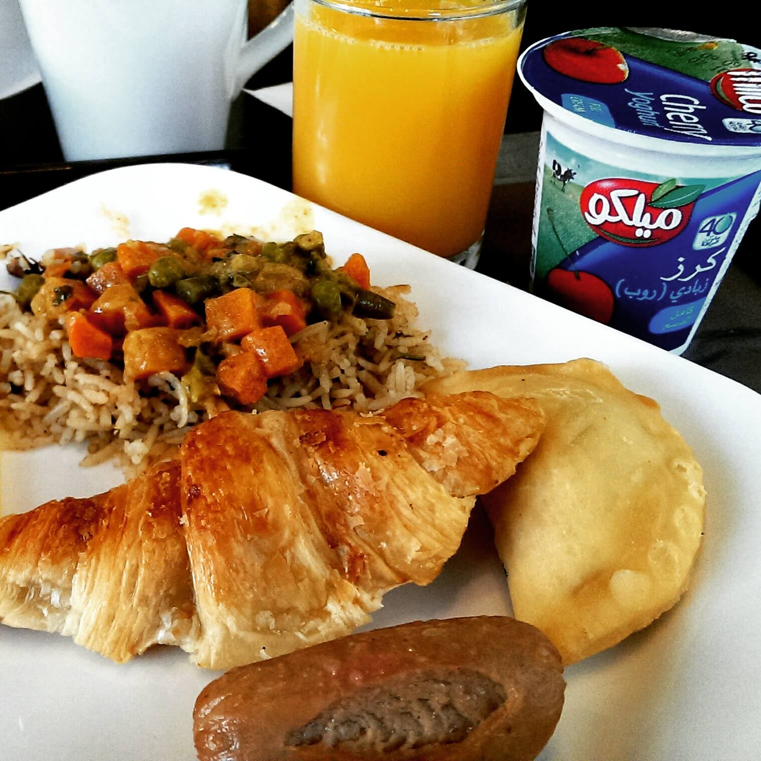 Dubai on a budget - Breakfast at Ibis Hotel Dubai Deira City Centre (photo by Sheila Scarborough)