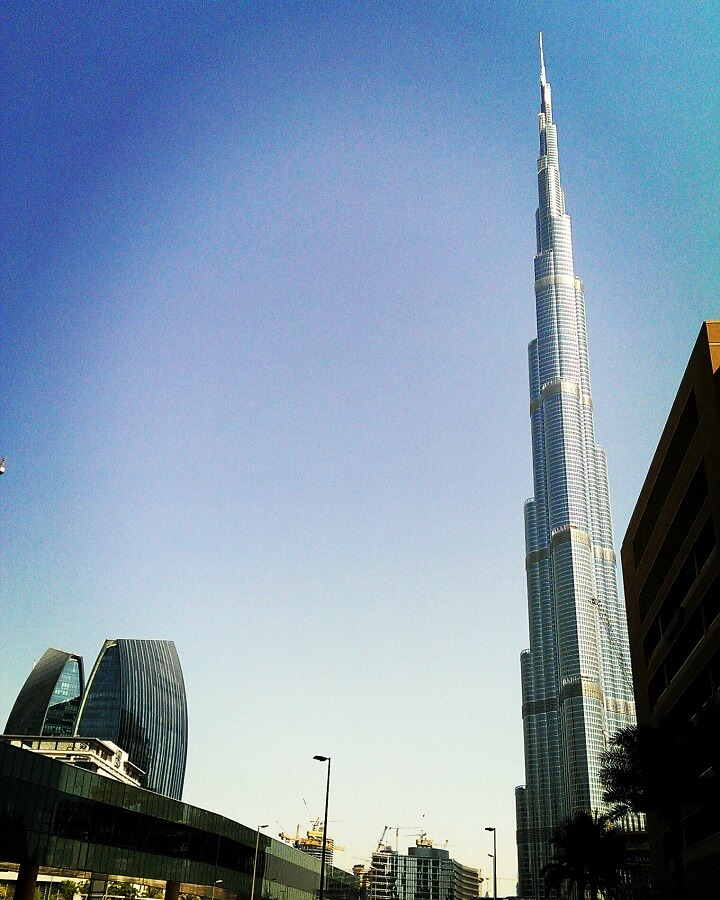 Burj Khalifa in Dubai (photo by Sheila Scarborough)