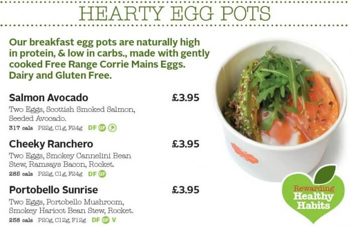 healthy eggs marthas Glasgow Scotland
