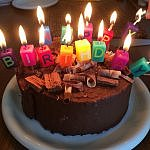 Cake for Perceptive Travel Blog birthday (photo courtesy Dark Dwarf on Flickr Creative Commons)
