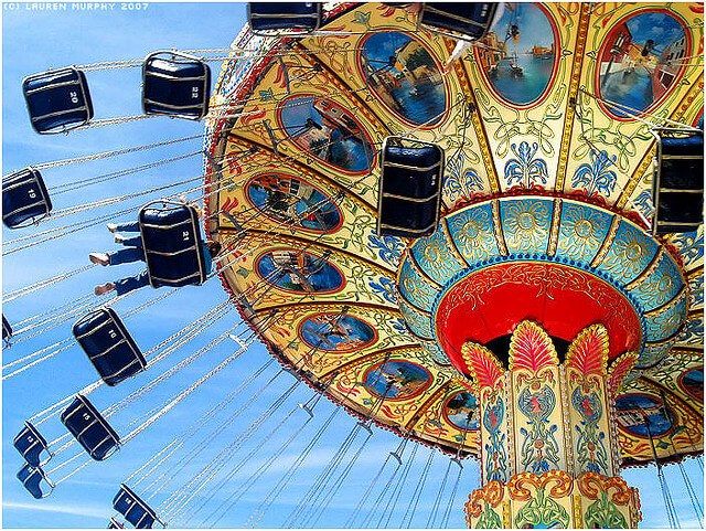 Carnival swing ride (courtesy Lauren Murphy Flickr CC)