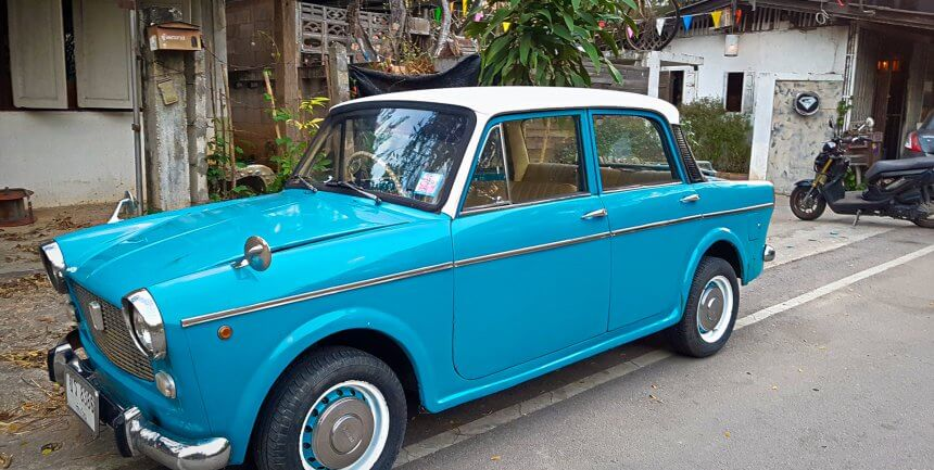 Classic Car in Chiang Mai (Getting Lost)