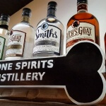 Craft spirits at Bone Spirit Distillery in Smithville Texas (photo by Sheila Scarborough)