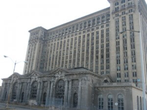 Michigan Central Depot, Detroit. Photo by Alison Stein Wellner