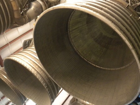 Saturn V Rocket at Houston Space Center