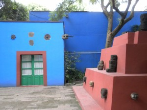 In the Garden of Casa Azul
