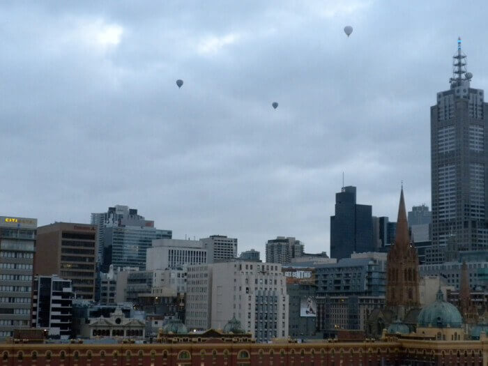 Hot Air Balloons in Melbourne, Australia