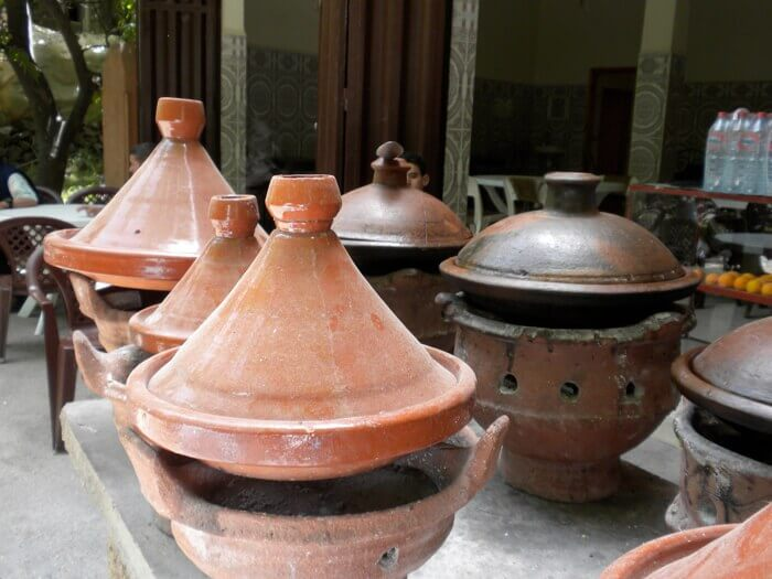 Tagines in Morocco