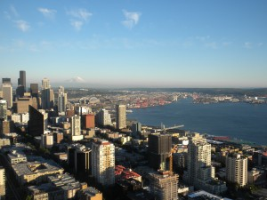 View from Seattle's Space Needle