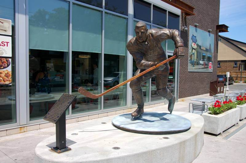 Tim Horton — the hockey player and legendary coffee chain.