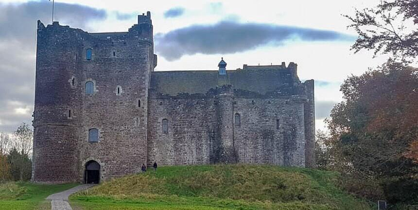 Doune Castle (Monty Python, Game of Thrones and Outlander)