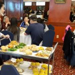 Dim Sum cart at Ocean Star Restaurant Monterey Park in Los Angeles CA (photo by Sheila Scarborough)