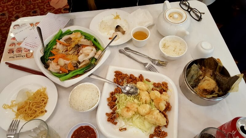 With 3 days in Los Angeles, try dim sum at Ocean Star Restaurant Monterey Park in LA (photo by Sheila Scarborough)