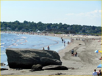 Easton's Beach, Newport, Rhode Island (courtesy DestinationNewport.com)