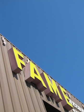 The FAME Recording Studios in Muscle Shoals, Alabama