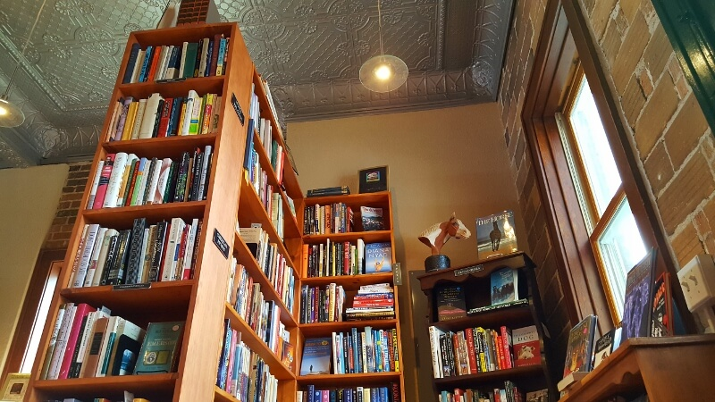 Fair Trade Books in downtown Red Wing Minnesota (photo by Sheila Scarborough)