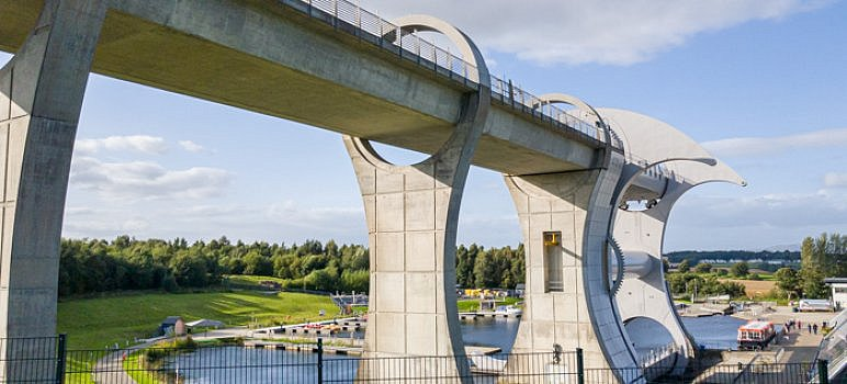 Falkirk Wheel (Things to Do in Falkirk Cover)