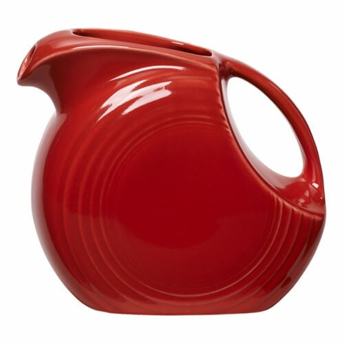 Fiesta Large Disk Pitcher (courtesy FiestaFactoryDirect)