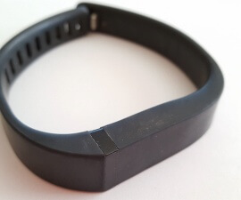 Fitbit Flex fitness tracker is also a good travel companion (photo by Sheila Scarborough)