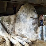 Fremont Troll quirky Seattle (photo by Sheila Scarborough)